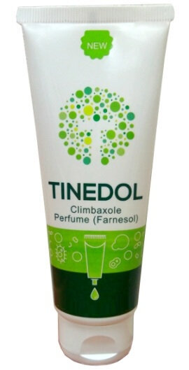 You buy the cream Tinedol